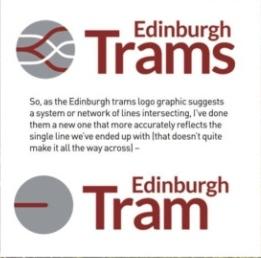 Edinburgh Tram Logo