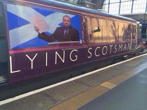 Lying Scot